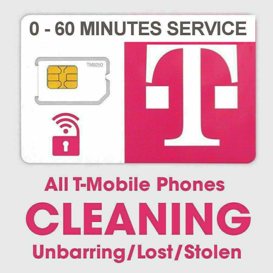 T-Mobile IMEI cleaning